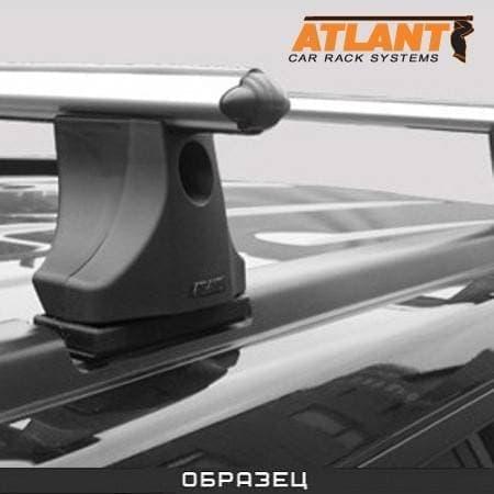 Багажник Атлант в сборе на крышу с аэродин. дугами для Kia Ceed I 5-дв. хэтчбек (2007-2012) № 8122