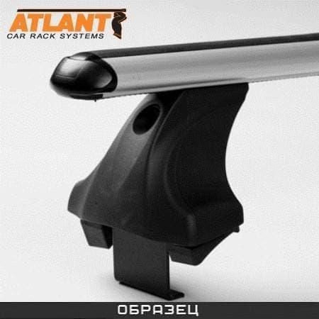 Багажник Атлант в сборе на крышу с аэродин. дугами для Kia Cerato TD седан (2008-2012) № 7546