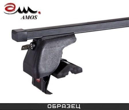 Багажник Amos Dromader Plus на крышу с прямоуг. дугами для Ford Edge I 5 дв. (2007-2014) № D-1-o1.4-plus
