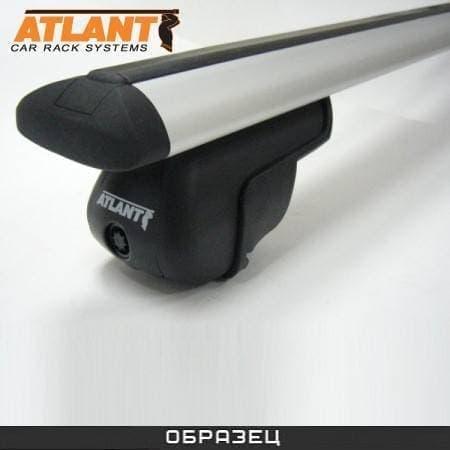 Багажник Атлант на рейлинги с дугами в форме крыла для Porsche Cayenne I 5-дв. (2002-2010) № 8810+8824