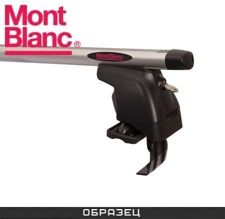 Багажник Mont Blanc AMC на крышу с аэродин. дугами для Audi A8 D3 4E седан (2003-2011) № 241280+245002