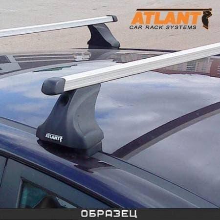Багажник Атлант на крышу с прямоуг. дугами для Mazda CX-7 (2006-2012) № 7011+7001+8725