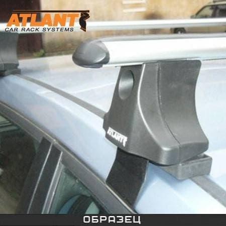 Багажник Атлант на крышу с аэродин. дугами для Volkswagen Golf V, VI Plus хэтчбек (2009-2018) № 8633+8809+8828
