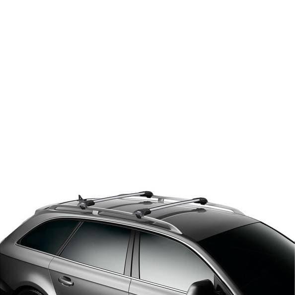 Багажник Thule WingBar Edge на рейлинги с дугами в форме крыла для Mitsubishi Pajero (2006-2018) № 9583