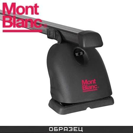 Багажник Mont Blanc Classic на крышу с прямоуг. дугами для Peugeot 407 седан (2004-2011) № 796502+796036