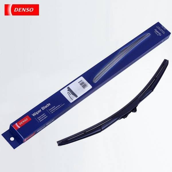 Задняя щетка стеклоочистителя Denso гибридная для Kia Sorento (2002-2009) № DU-035L-1