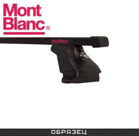 Багажник Mont Blanc AMC на крышу с прямоуг. дугами для Opel Adam хэтчбек 3-дв. (2012-2018) № 234140+245103