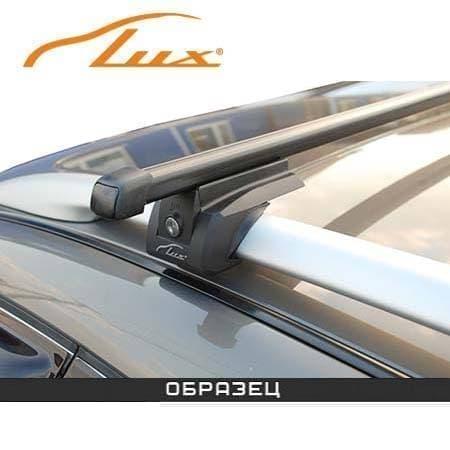 Багажник Люкс Элегант на рейлинги с прямоуг. дугами для Ford Focus II универсал (2005-2010) № 842648