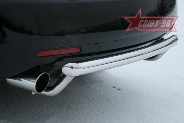 Защита задняя, длинная для Mazda CX-7 (2007-2013) № MACX.75.0713