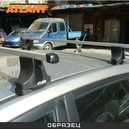 Багажник Атлант в сборе на крышу с прямоуг. дугами для Mazda 3 I хэтчбек (2003-2009) № 8105
