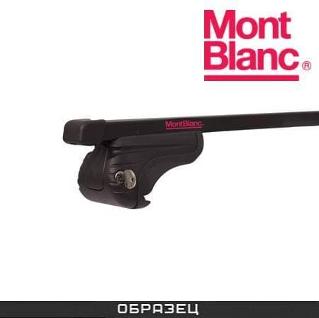 Багажник Mont Blanc AMC на рейлинги с прямоуг. дугами для Nissan Qashqai 5-дв. (2007-2014) № 234150+245200