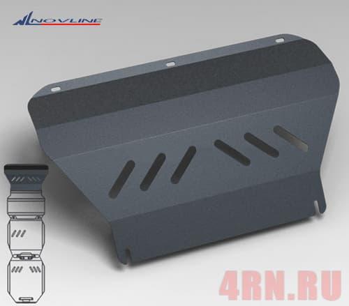 Защита радиатора Mitsubishi Pajero Sport (L200) (2008-2015) № NLZ.35.20.320