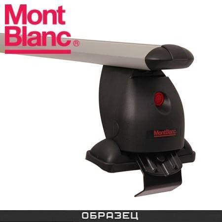 Багажник Mont Blanc Flex 3 на крышу с аэродин. дугами для Nissan Almera N16 хэтчбек 3-дв. (2000-2006) № 776062+785998+786112+785003