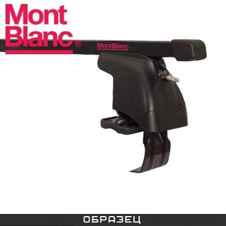 Багажник Mont Blanc AMC на крышу с прямоуг. дугами для Peugeot 106 хэтчбек 5-дв. (1991-2004) № 234140+245017