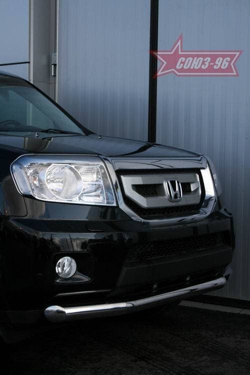 Защита переднего бампера d76 для Honda Pilot (2008-2015) № HPIL.48.0717