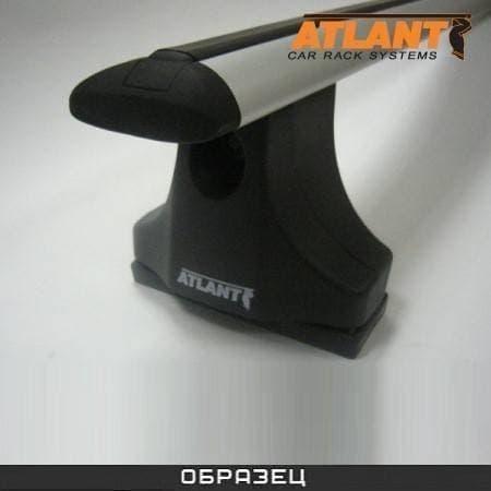 Багажник Атлант на крышу с дугами в форме крыла для Opel Zafira В (2005-2011) № 8753+8709+8824
