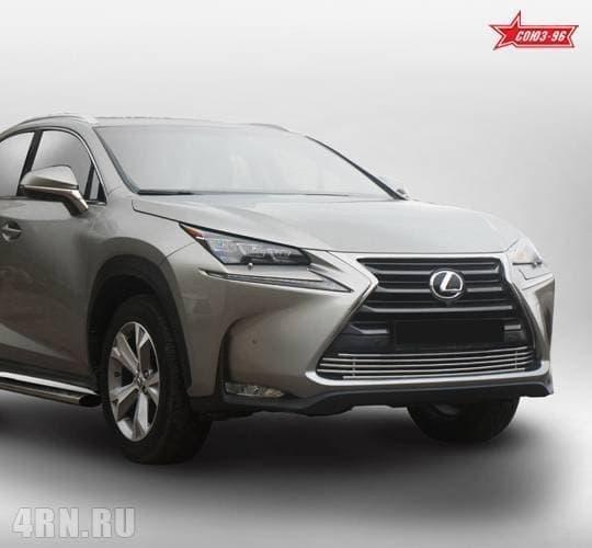 Декоративные элементы воздухозаборника (d10) Lexus NX (2014-2018) эксклюзив TMR № LENX.97.2891