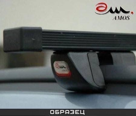 Багажник Amos Futura на интегрированные рейлинги с прямоуг. дугами для Kia Sportage III 5-дв. (2010-2015) № futura-o1.3