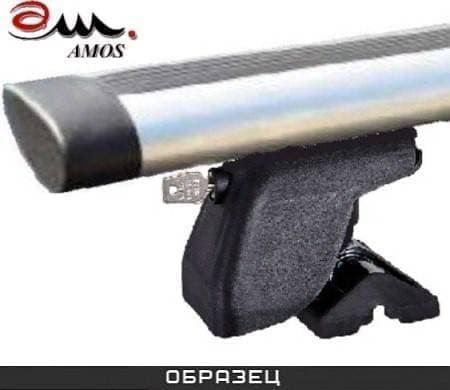 Багажник Amos Dromader Plus на крышу с аэро-альфа дугами для BMW 1-Серия (E81) хэтчбек 3 дв. (2007-2011) № C-15-a1.3-plus