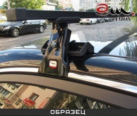 Багажник Amos Dromader на крышу с прямоуг. дугами для Toyota Corolla E110 хэтчбек 5-дв. (1998-2001) № D-1-o1.3