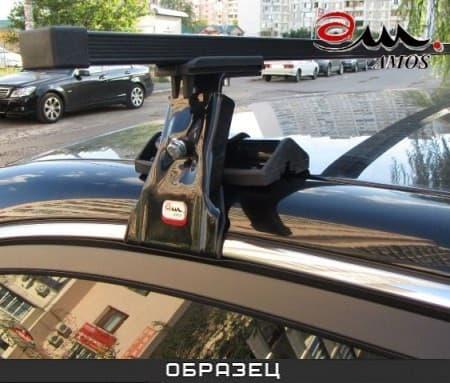 Багажник Amos Dromader на крышу с прямоуг. дугами для Toyota Land Cruiser 100 5-дв. (1998-2007) № D-1-o1.4