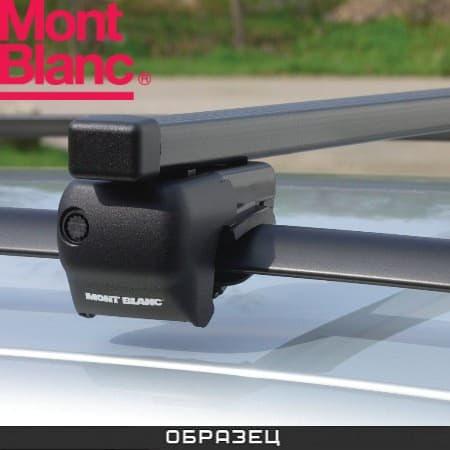 Багажник Mont Blanc Classic на рейлинги с прямоуг. дугами для Daewoo Nubira KLAJ универсал (1999-2003) № MB796701