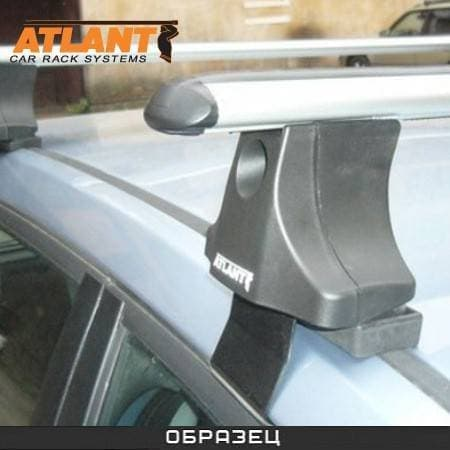 Багажник Атлант в сборе на крышу с аэродин. дугами для Nissan Primera P12 седан, хэтчбек (2002-2008) № 8286