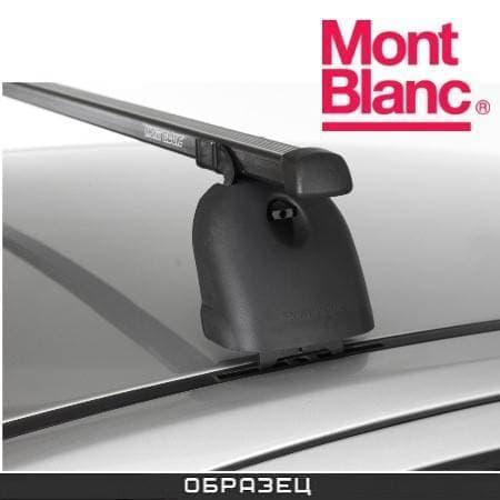 Багажник Mont Blanc Classic на крышу с прямоуг. дугами для Opel Vectra C седан (2002-2008) № MB796501
