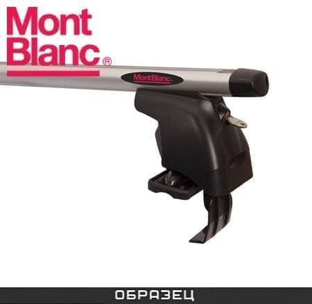 Багажник Mont Blanc AMC на крышу с аэродин. дугами для Toyota Yaris P1 хэтчбек 5-дв. (1999-2006) № 241260+245017