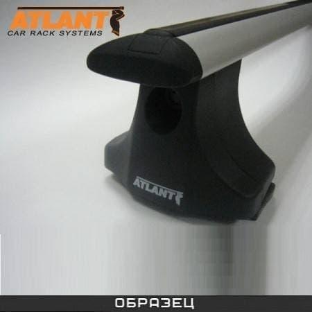 Багажник Атлант на крышу с дугами в форме крыла для Nissan Qahsqai+2 (2008-2018) № 8878+8809+8824