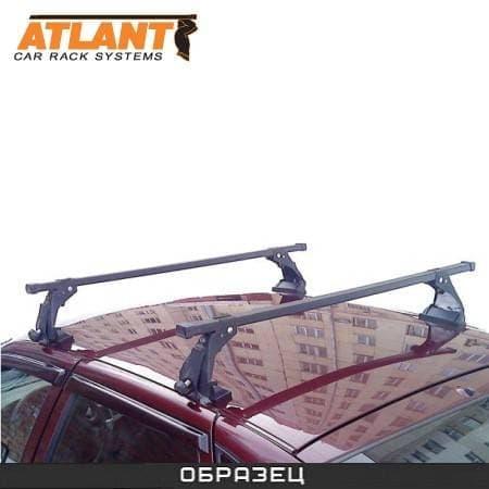 Багажник Атлант Эконом на крышу с прямоуг. дугами для Lada Priora седан (2007-2018) № 8928