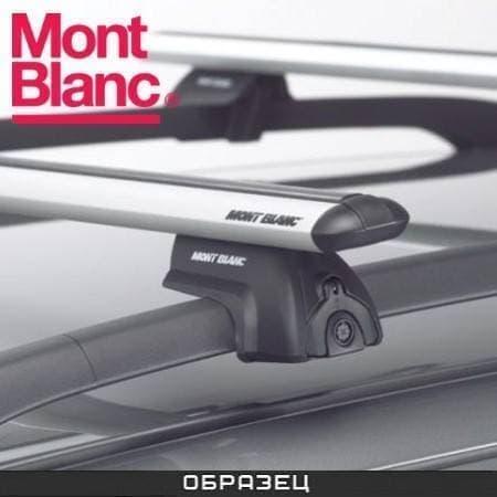 Багажник Mont Blanc ReadyFit на рейлинги с аэродин. дугами для Hyundai Santa Fe 5-дв. (2001-2006) № MB748020