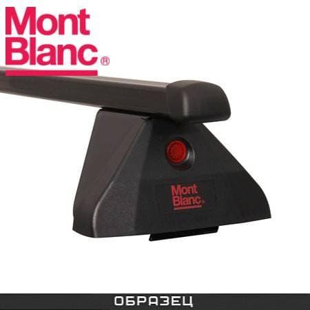 Багажник Mont Blanc Flex 2 на крышу с прямоуг. дугами для Toyota Avensis универсал (2009-2018) № 774181+788761