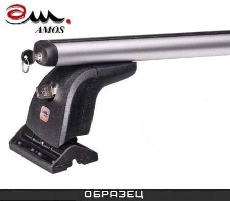 Багажник Amos Beta на крышу с аэродин. дугами для Lancia Musa 5-дв. (2004-2012) № beta-b-103-f1.2l