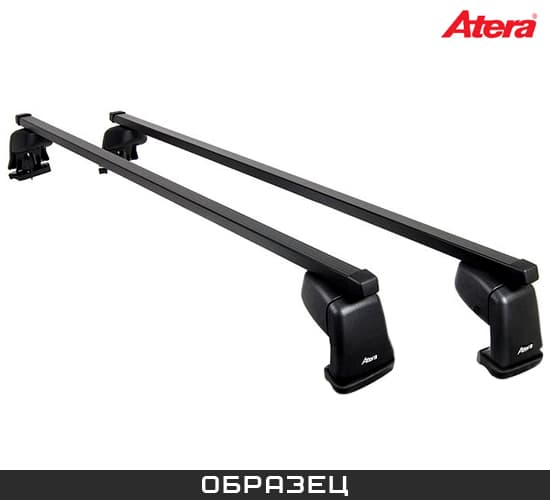 Багажник Atera на крышу с прямоуг. дугами для Chevrolet Aveo 5дв. (2003-2012) № AT 044033