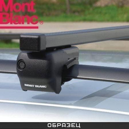 Багажник Mont Blanc Classic на рейлинги с прямоуг. дугами для Audi A6 C7 Allroad 5дв. (2012-2018) № MB796702
