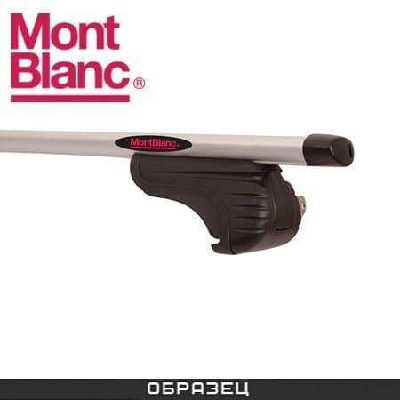 Багажник Mont Blanc AMC на рейлинги с аэродин. дугами для Jaguar X-type универсал (2004-2010) № 241250+245200