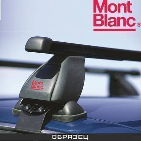 Багажник Mont Blanc Classic на крышу с прямоуг. дугами для Volkswagen Polo хэтчбек 5-дв. (2009-2017) № 796401+796011