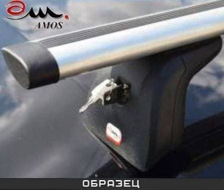 Багажник Amos Beta на крышу с аэро-альфа дугами для Mazda Premacy MPV II 5-дв. (2004-2010) № beta-b-103-a1.2