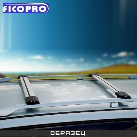 Багажные поперечины Fico на рейлинги серебристые для Renault Megane II универсал 5-дв. (2003-2008) № R44-S