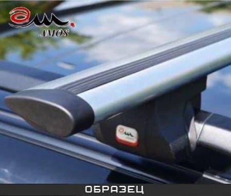 Багажник Amos Alfa на рейлинги с аэро-альфа дугами для Land Rover Freelander I 5-дв. (1998-2006) № alfa-a1.2
