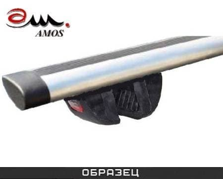 Багажник Amos Futura на рейлинги с аэро-альфа дугами для Nissan Murano Z50, Z51 5-дв. (2003-2016) № futura-a1.3