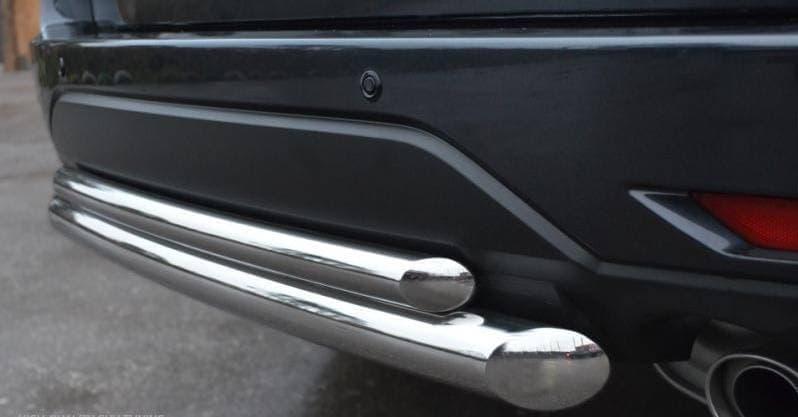 Защита заднего бампера d63/42 (дуга) Toyota Land Cruiser 100 (1998-2007) № LHZ-000465