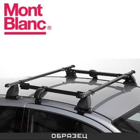 Багажник Mont Blanc Classic на крышу с прямоуг. дугами для Renault Megane хэтчбек 3-дв. (2008-2016) № 796401+796031+796802