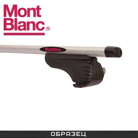 Багажник Mont Blanc AMC на рейлинги с аэродин. дугами для Skoda Fabia универсал (2007-2014) № 241270+245200