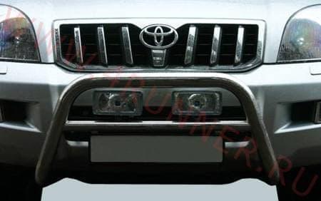 Защита передняя мини d 60 Toyota Land Cruiser 120 Prado (2003-2009) № TC12.56.0028