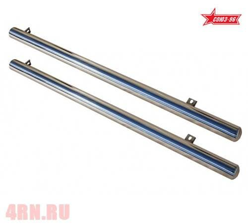 Пороги труба d76 (комплект 2 шт.) для Nissan Qashqai (2007-2014) № NQSH.80.0453