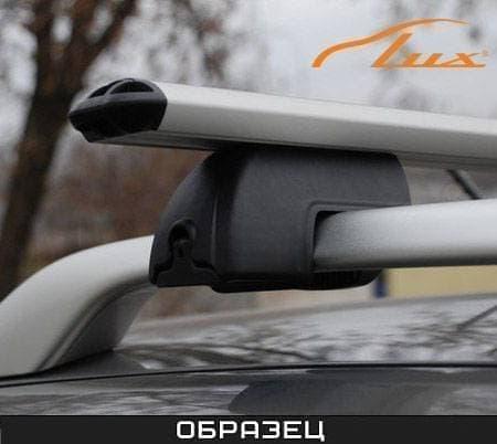 Багажник Люкс на рейлинги с аэро-классик дугами для Hyundai Starex H1 минивен (2004-2007) № 699024