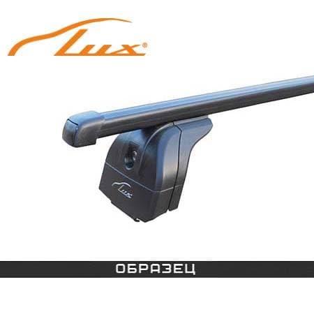 Багажник Люкс на интегрированные рейлинги с прямоуг. дугами для Kia Soul хэтчбек (2015-2018) № 842891