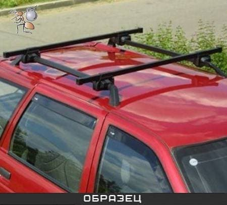 Багажник Муравей на рейлинги с прямоуг. дугами для Nissan Primera универсал II (WP11) универсал (1996-2001) № 694944